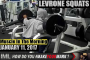 LEVRONE SQUATS! - Muscle In The Morning January 11, 2017