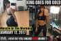 KING GOES FOR GOLD! - Muscle In The Morning January 12, 2017