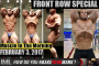 FRONT ROW SPECIAL! - Muscle In The Morning February 3, 2017