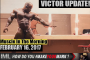 VICTOR MARTINEZ UPDATE! - Muscle In The Morning February 16, 2017