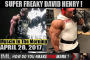 FREAKY DAVID HENRY!- Muscle In The Morning April 28, 2017