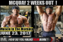 MCQUAY 2 WEEKS OUT!- Muscle In The Morning June 23,  2017