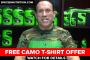 Free Camo T-Shirt Offer
