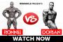 Versus: Dorian Yates vs. Ronnie Coleman