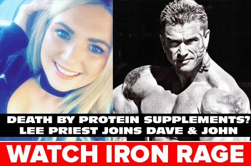 Lee Priest on Iron Rage