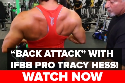 Back Attack with IFBB Pro Tracy Hess