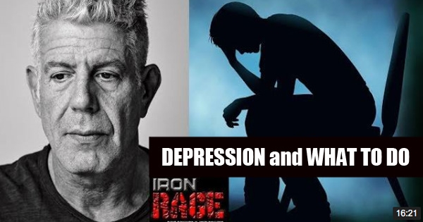 iron rage depression
